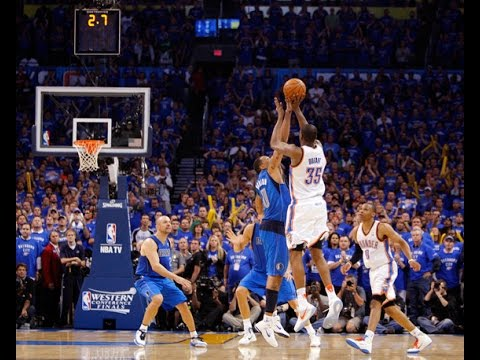 kevin durant shooting a 3